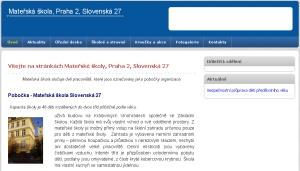 MŠ Slovenská 27
