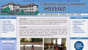 1. Základní škola T. G. Masaryka Milevsko - Využití tabletů iPad ve výuce