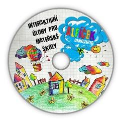 DVD Alfíček pro mateřské školy - interaktivní úlohy